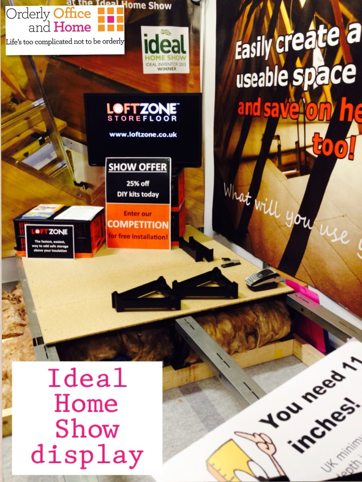 Loft Zone at Ideal Home Show Manchester