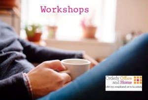 Workshops from Orderly Office and Home (2)