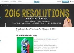 Contribution to Leesa Blog 28.12.15 by Amanda Manson