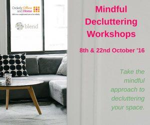 Mindful Decluttering Workshops FB Teaser