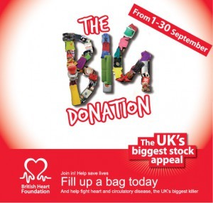 BHF Donation