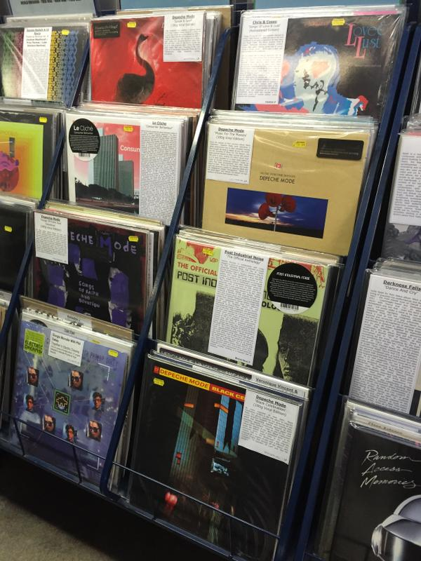 Record Store Day vinyl in Piccadilly Records