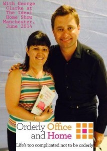 Ideal Home Show - Amanda of Orderly Office and Home meets George Clarke