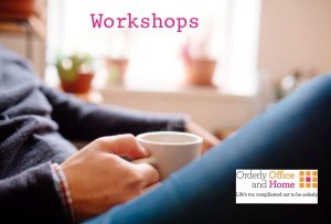 workshops from orderly office and home