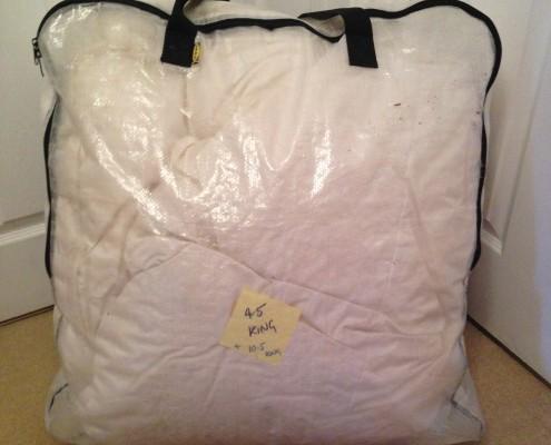 DIMPA storage bag for duvet