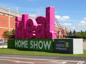 Ideal Home Show Manchester Sign