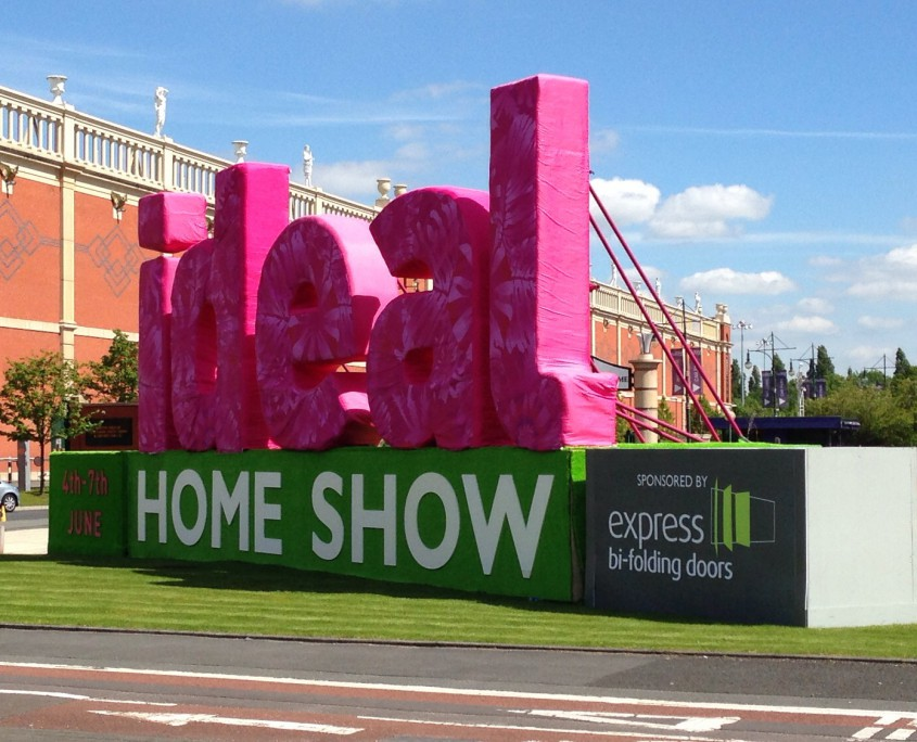 presenting at ideal home show 2015 orderly office and home