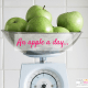 An apple a day... keeps the clutter at bay!