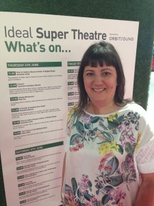 Super Theatre Line Up - Amanda Manson 2pm on Thursday 4.6.15