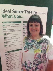 Super Theatre Line Up - Amanda Manson 2pm on Thursday 4.6.15
