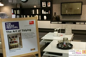 Art of Tidying Workshop at IKEA