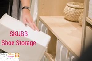 SKUBB Shoe Storage