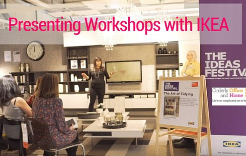 Presenting Workshops for IKEA UK