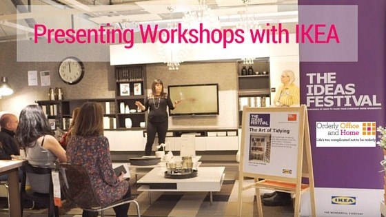 Presenting Workshops for IKEA UK