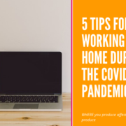 5 Tips for Homeworking during COVID19 from Orderly Office and Home