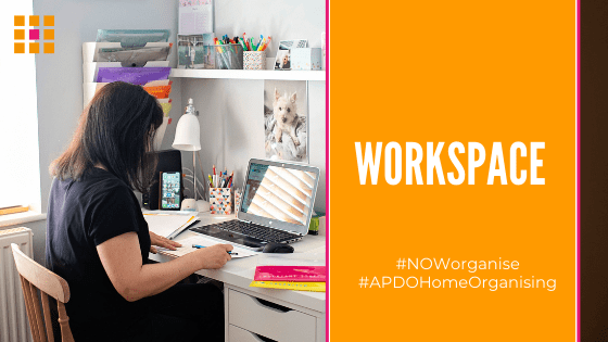 Blog - NOW 2020. Home Workspace